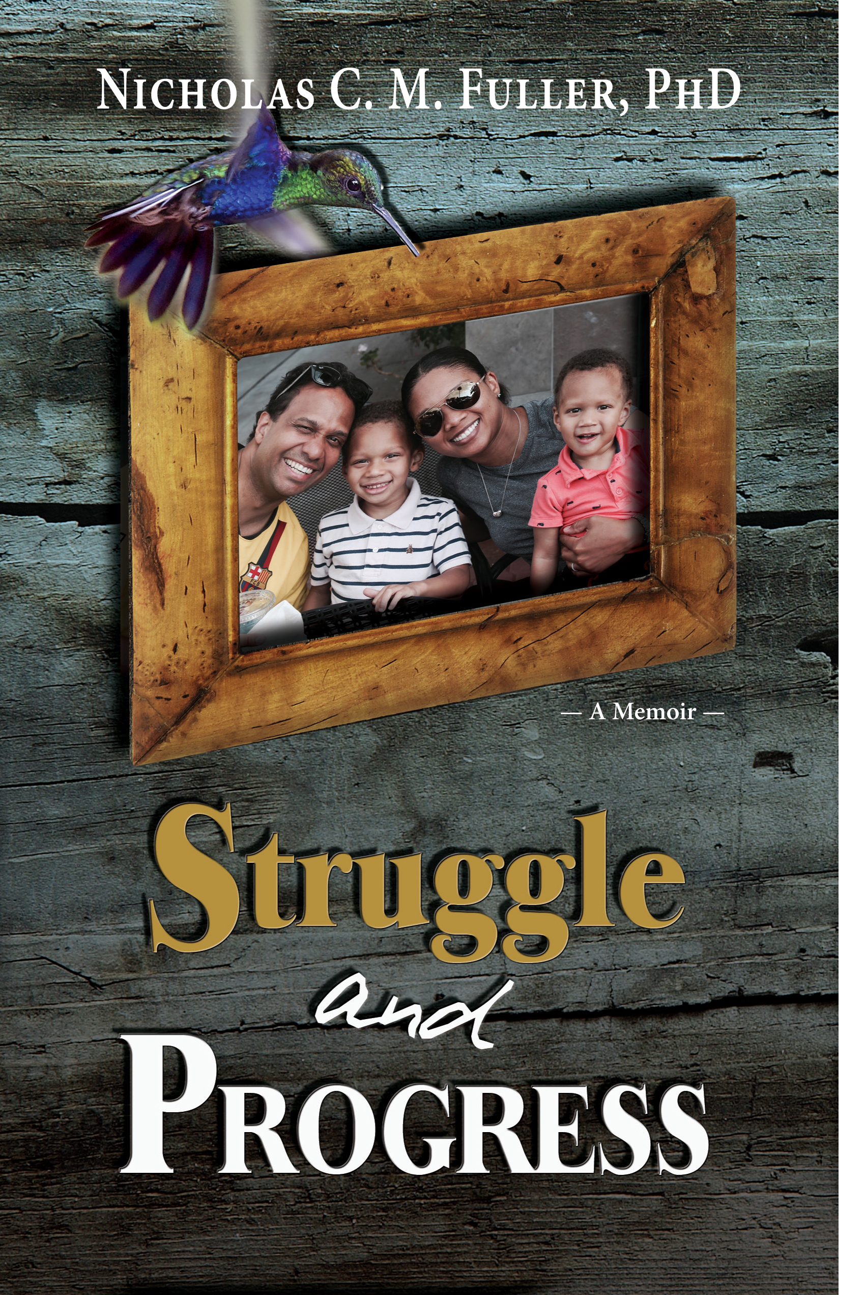 Dr Nick Fuller - Struggle and Progress Cover