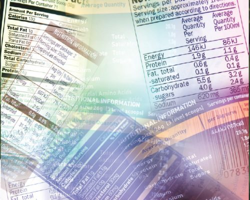 Food Labelling– Can you read this?