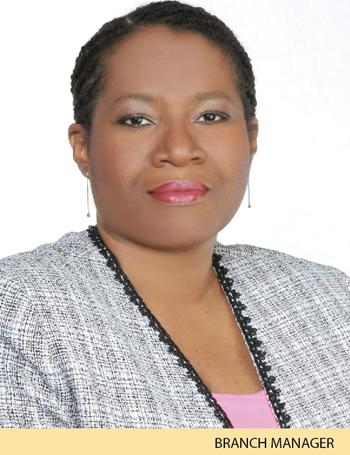 Nadine Rowe-Murray - Branch Manager - Barataria