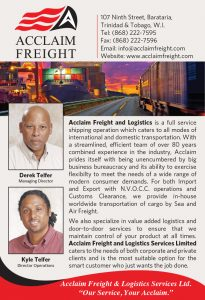 Acclaim Freight Whos Who 2020