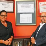 C. Agna Da Costa-Vieira – Director/Administration and H. Anthony Vieira – Managing Director