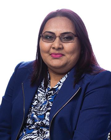 Roshni Ramlal - Payroll Manager