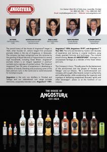 Angostura Who's Who 2020 Artwork