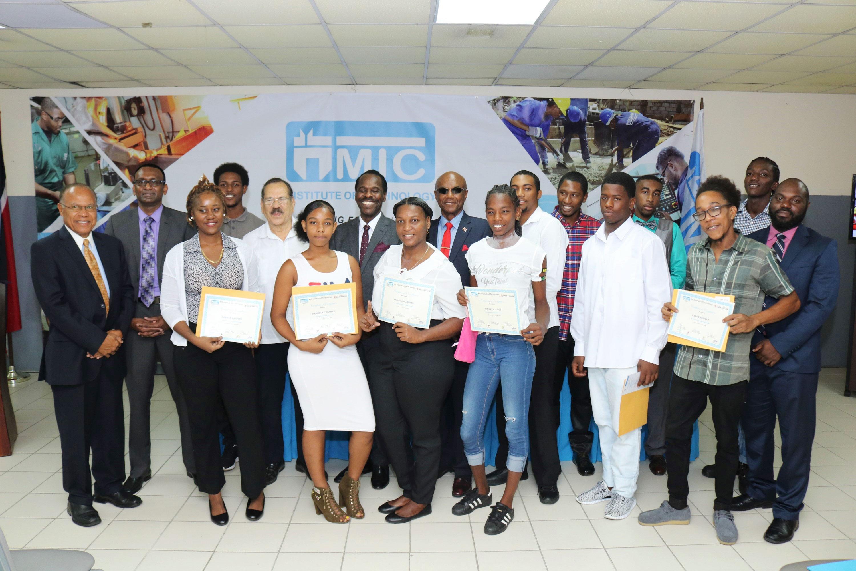 MIC Laventille Graduates