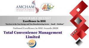 TCM Award Certificate