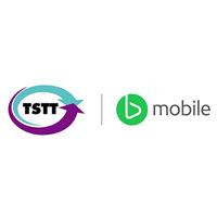 TSTT and B-mobile logo