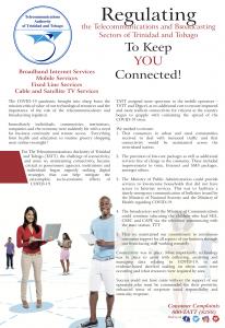 TheTelecommunications Authority of Trinidad and Tobago(TATT)