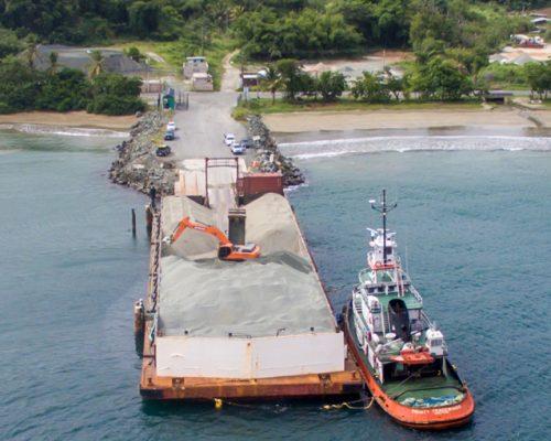 Tobago Rocks shipped to SVG