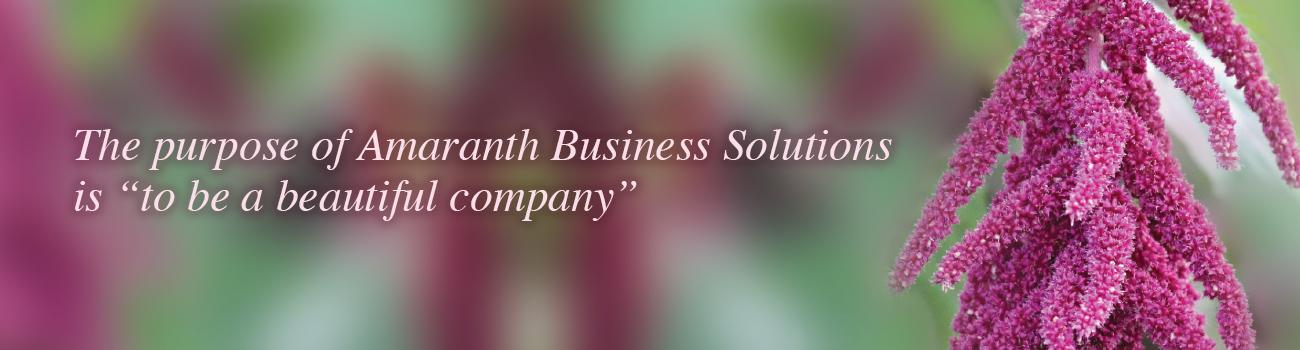 Amaranth Business Solution