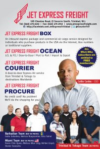 Jet Express Freight Who's Who 2020
