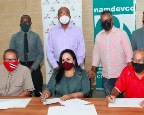 SporTT and NAMDEVCO formalised agreement for Farmers' Markets