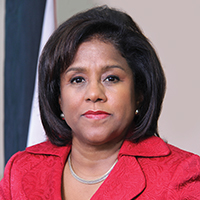 Minister Paula Gopee Scoon