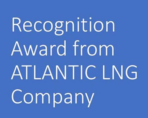 HHSL receives recognition award from Atlantic LNG Company