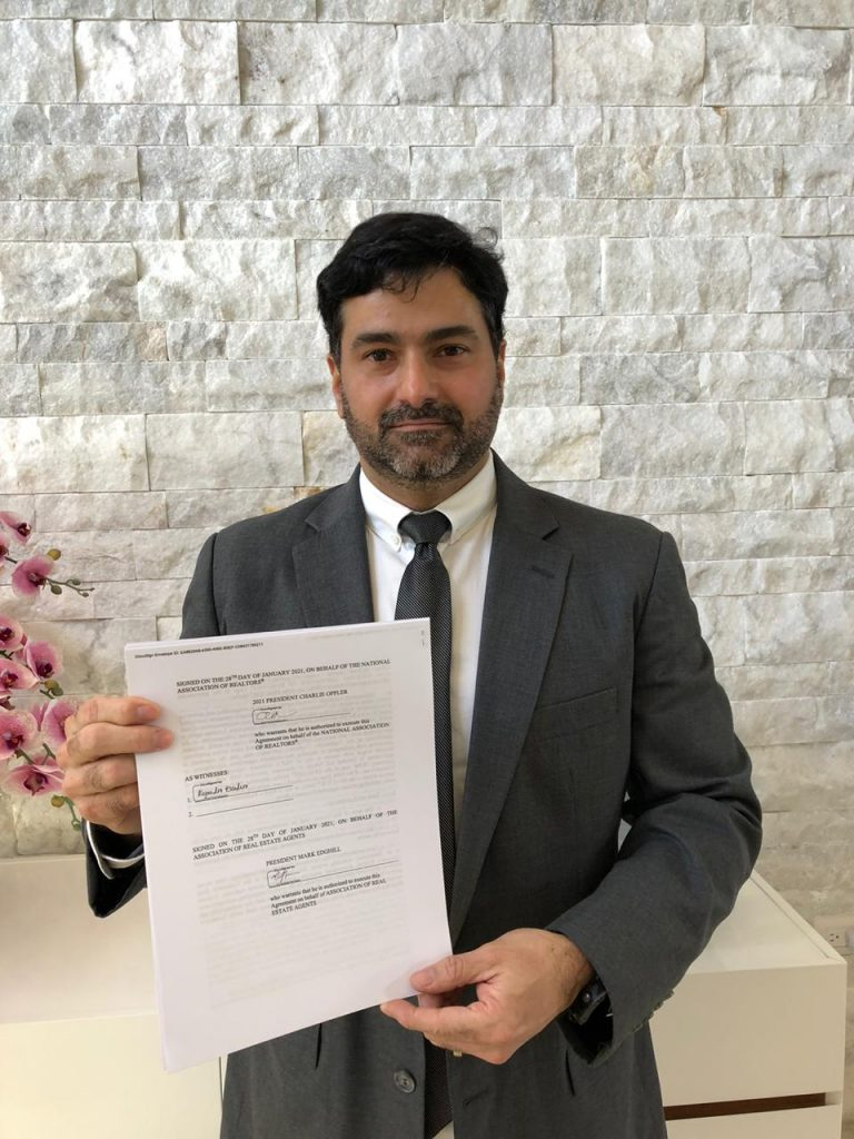 Association of Real Estate Agents signs bilateral agreement to support i...