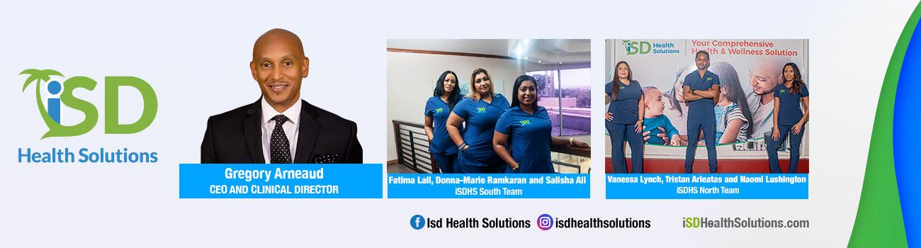 ISD health solution banner