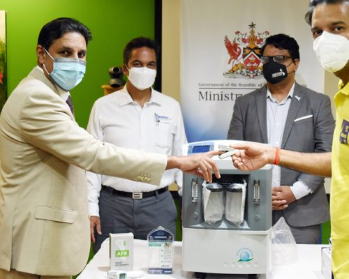 Lifesaving Medical Equipment Donated to T&T Health Sector