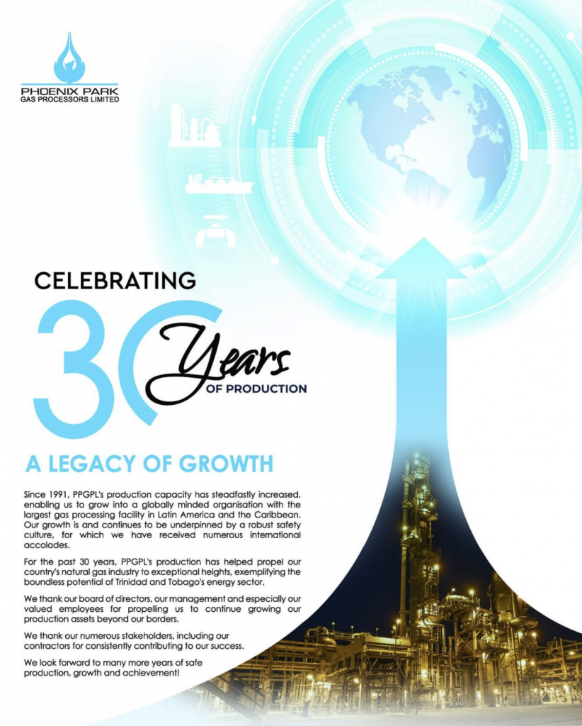 Congrats to Phoenix Park Gas Processors -Celebrating 30 years of production