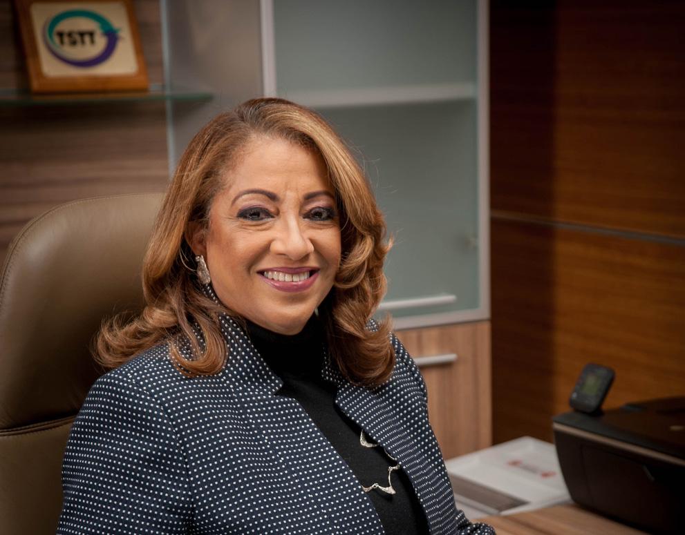 Lisa Agard, Chief Executive Officer, TSTT