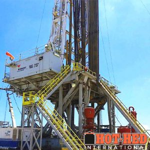 Hot-Hed Wellhead Installation Oilfield Rig
