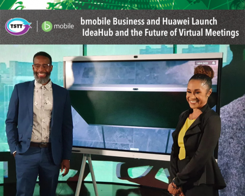 bmobile Business and Huawei Launch IdeaHub and the Future of Virtual Meetings